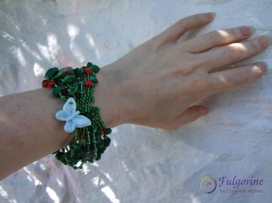 bracelet with butterfly