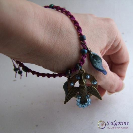 Hummingbird Bracelet by Cate van Alphen